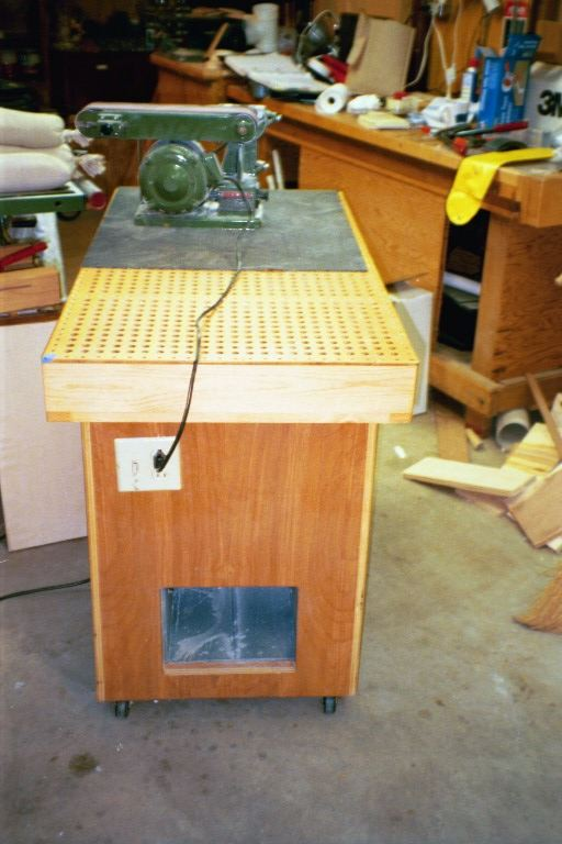 Sanding Vacuum Table